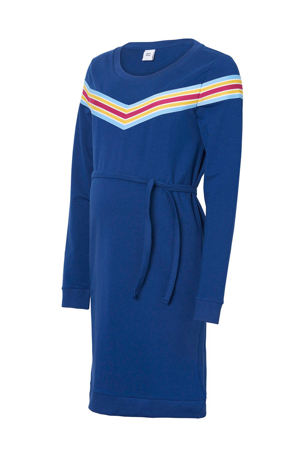 MAMA-LICIOUS zwangerschapsjurk met strepen, Blauw