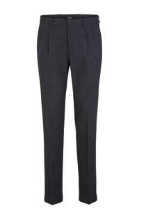 s.Oliver BLACK LABEL slim fit pantalon antraciet (heren)