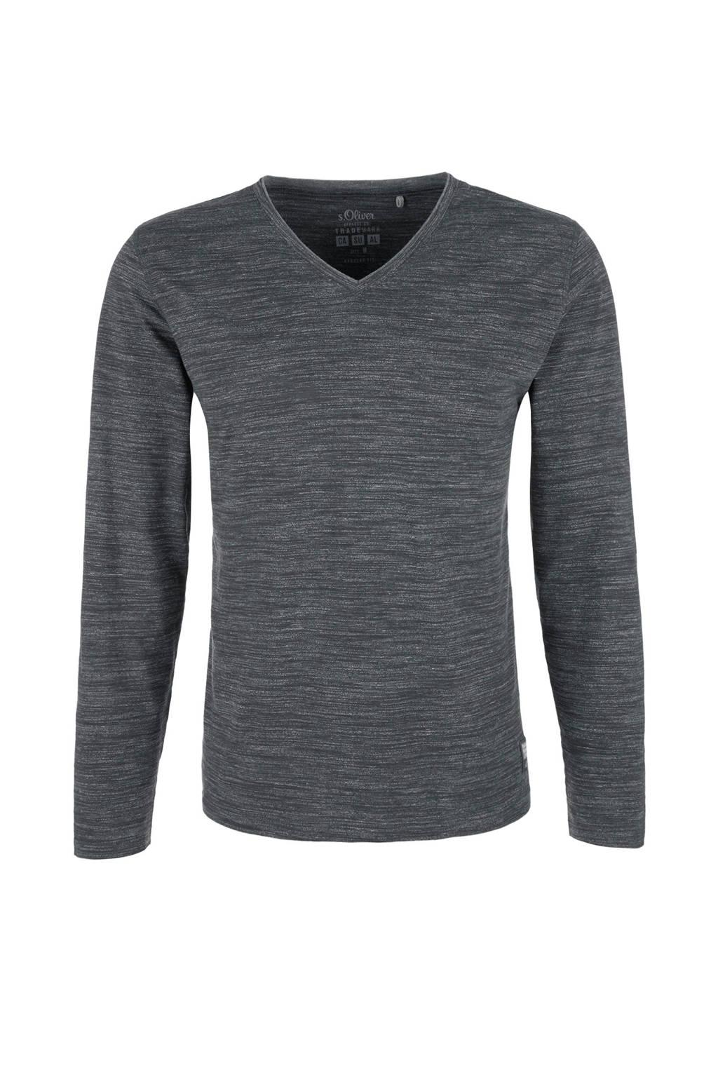 s.Oliver T-shirt, Antraciet