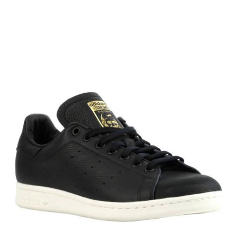 Stan Smith leren sneakers zwart