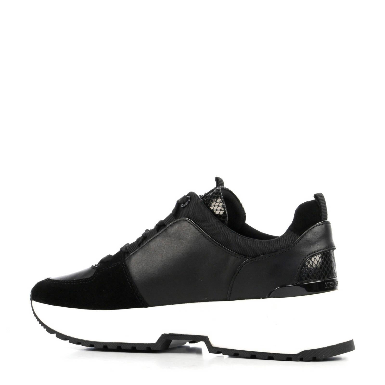 Sneakers Michael Zwart Leren Kors wk80OnP
