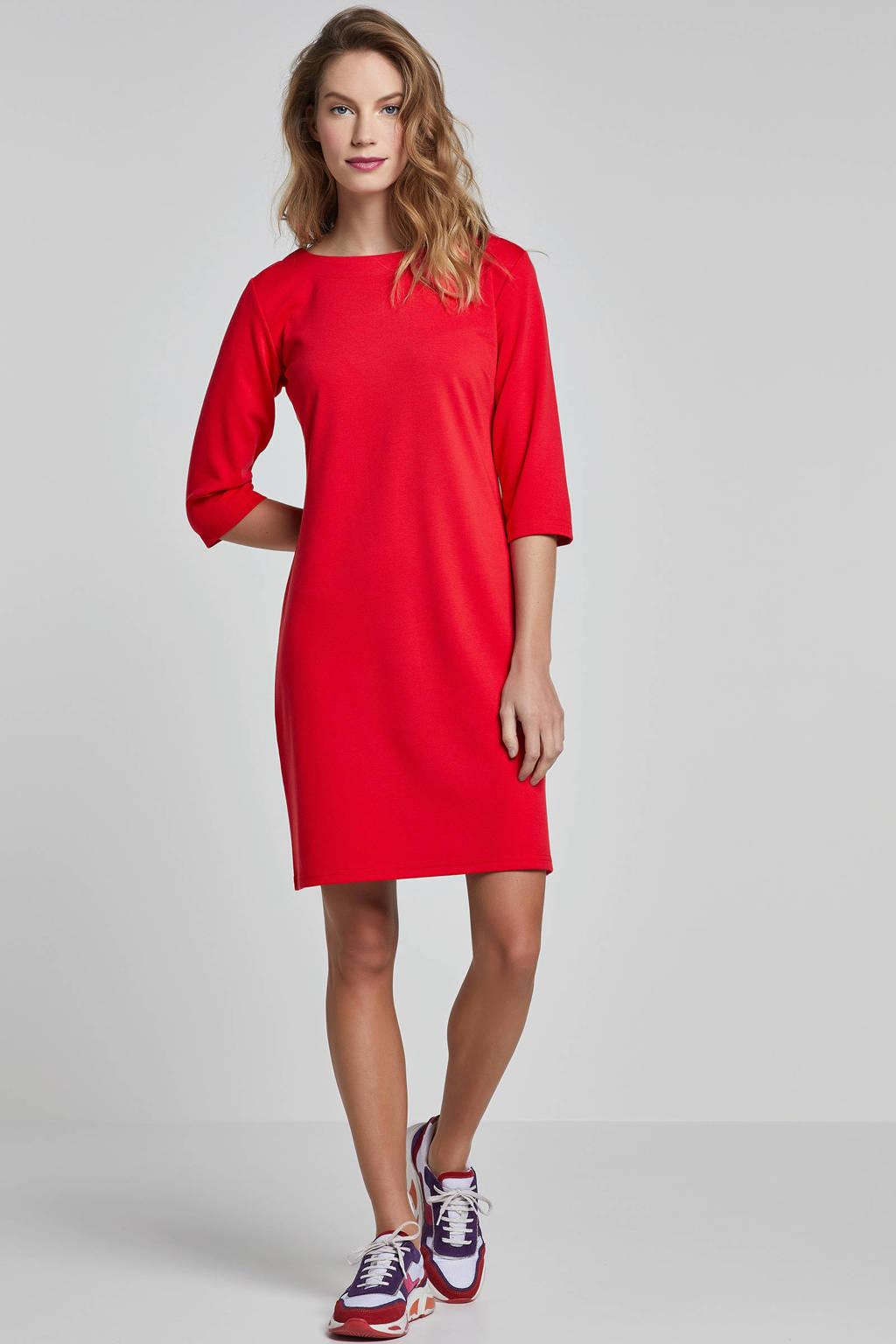 FREEQUENT jurk rood, Rood