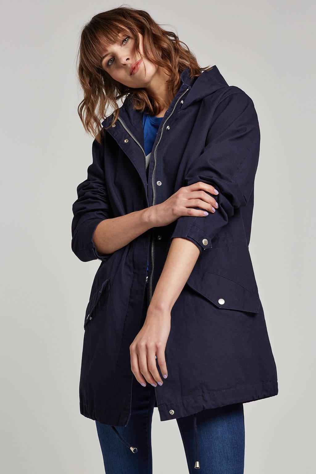 FREEQUENT jas Bjorg donkerblauw, Donkerblauw