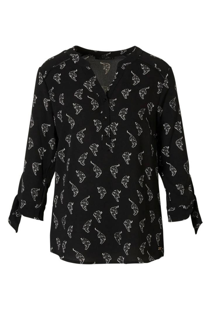 dayz print blouse Marleen met Marleen dayz YXnqwwxPd