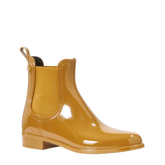 chelsea boots okergeel