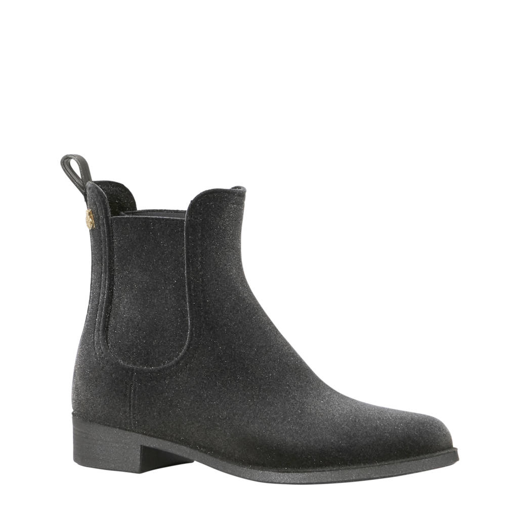 Lemon Jelly chelsea boots metallic grijs, Grijs