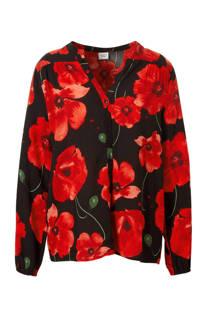 JACQUELINE DE YONG gebloemde blouse (dames)