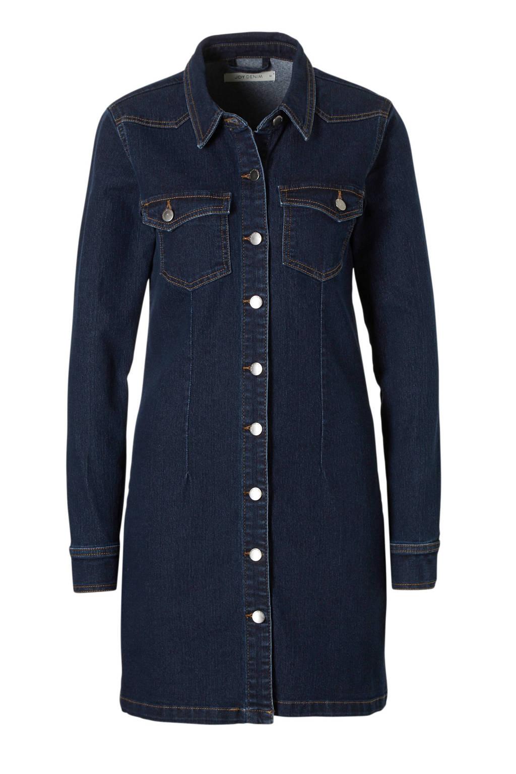 JACQUELINE DE YONG spijker jurk, Donkerblauw
