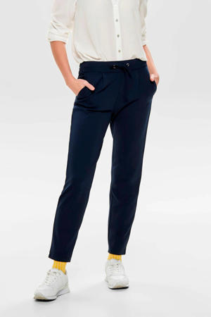 tapered fit broek blauw