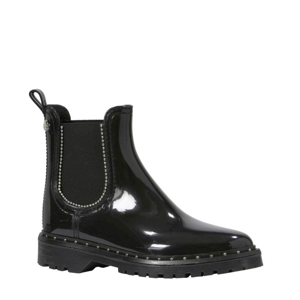 Lemon Jelly chelsea boots zwart, Zwart