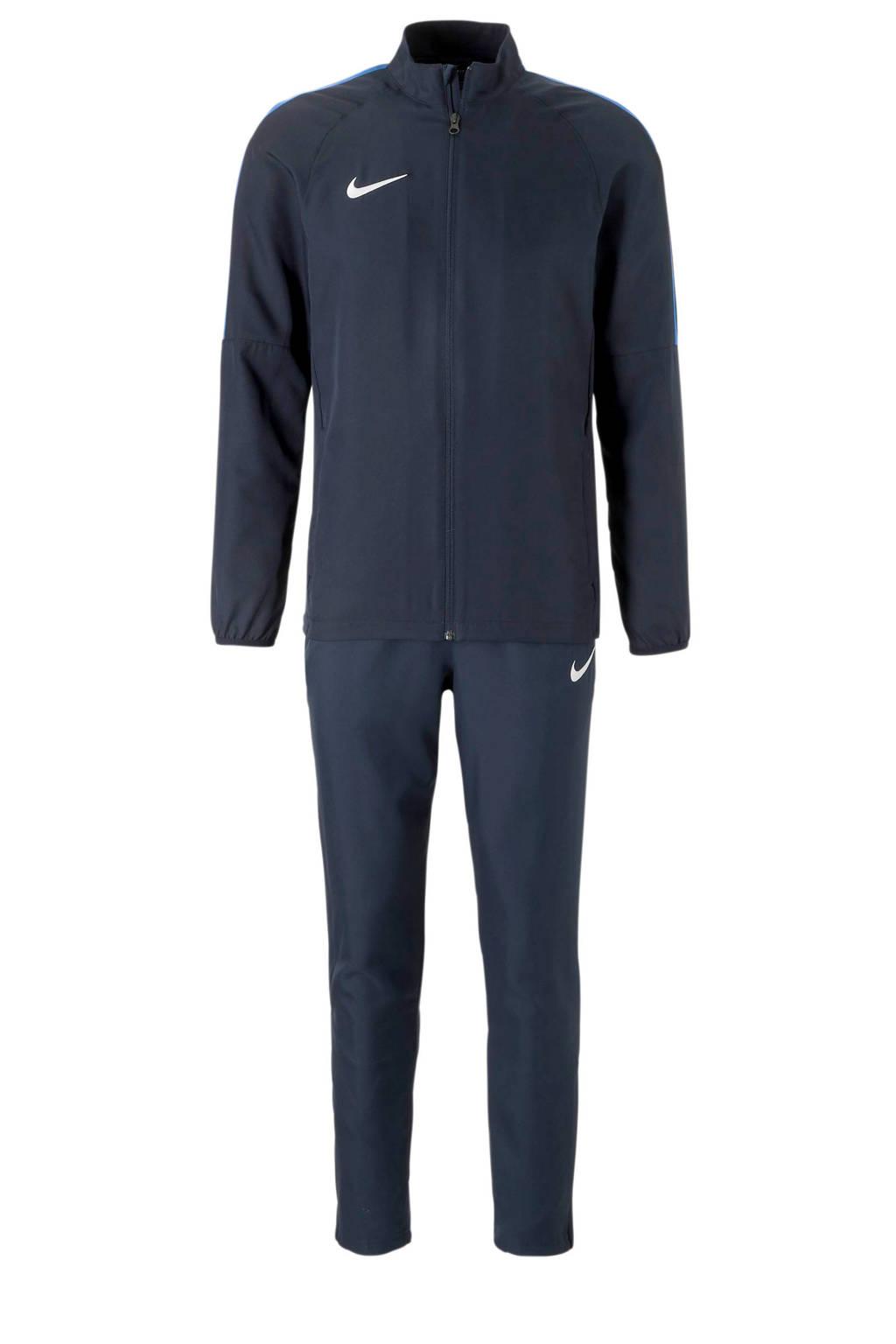 Nike   trainingspak rood/zwart, Donkerblauw/blauw