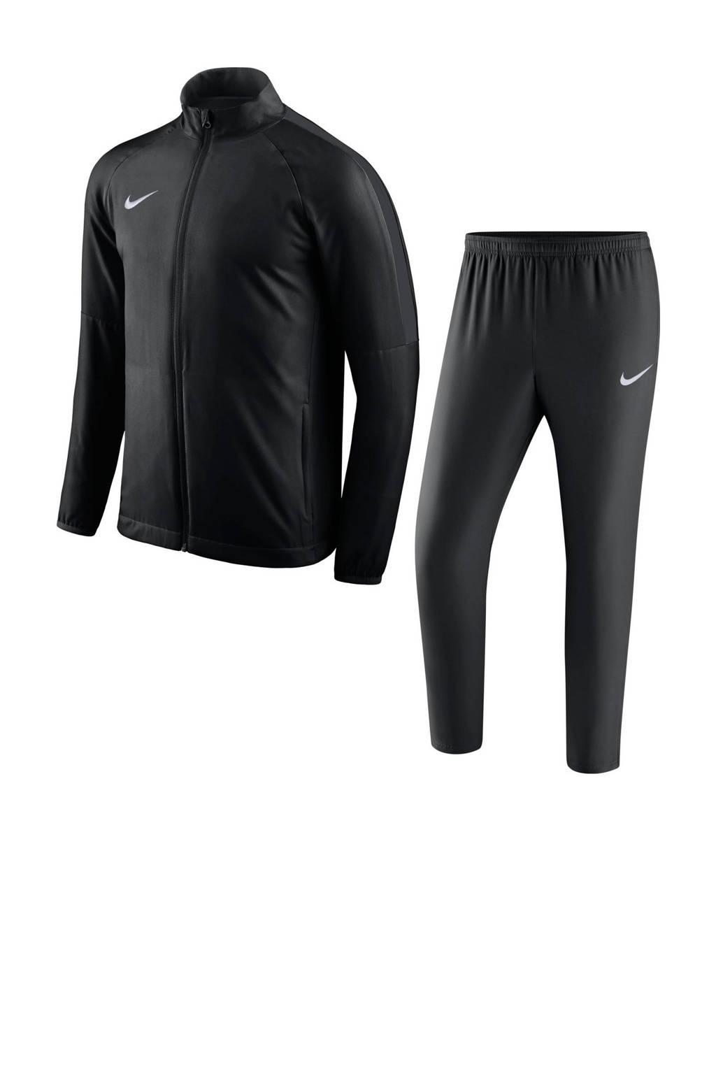 Nike   trainingspak zwart, Zwart