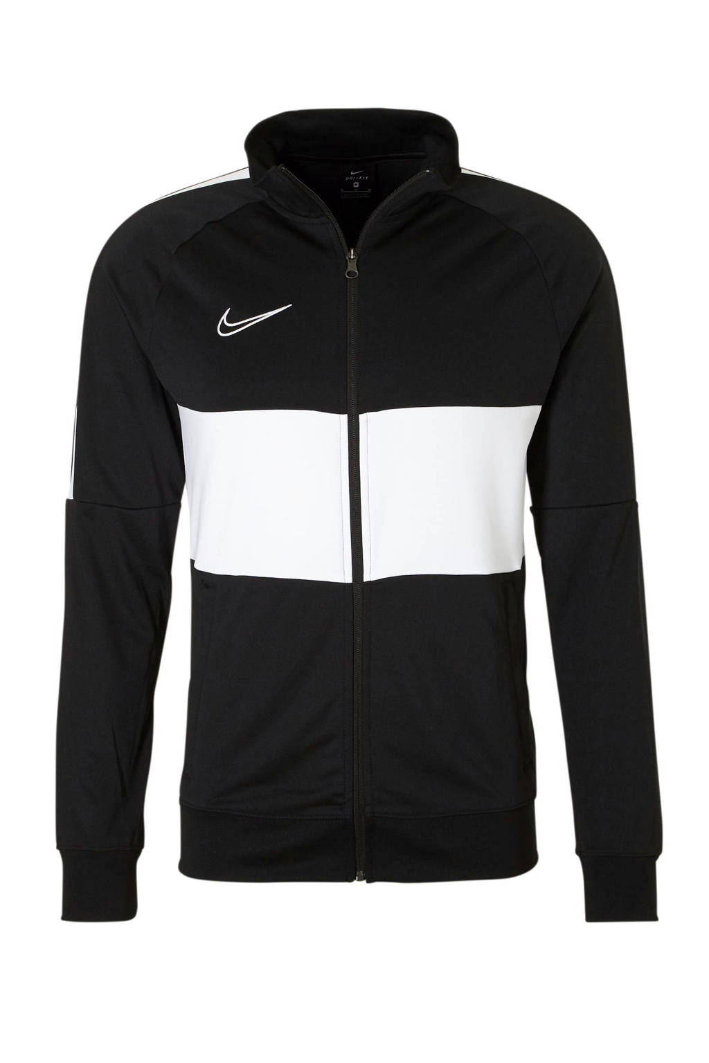 Nike   sportvest zwart, Zwart/wit