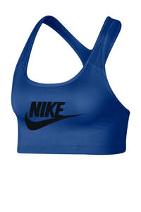 Nike / Nike sportbh blauw