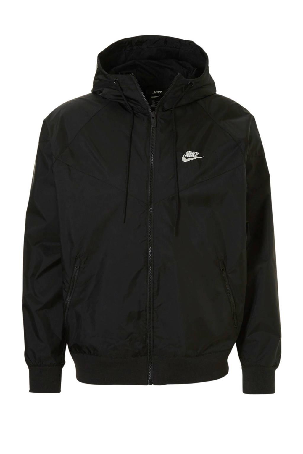 Nike jack, Zwart
