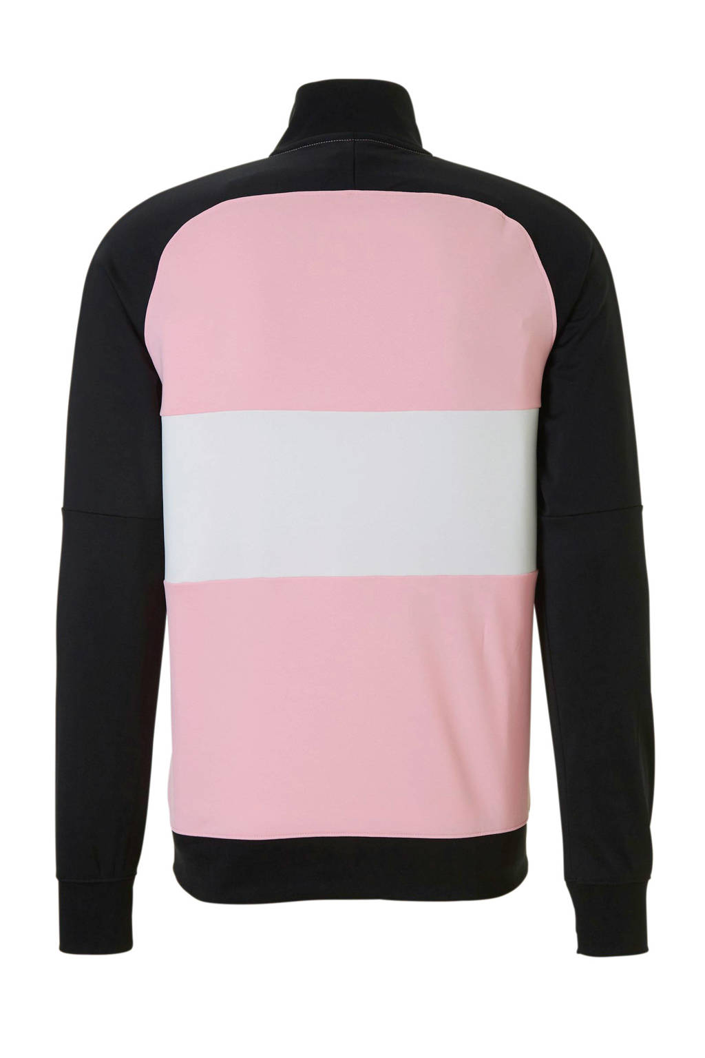 Nike   sportvest zwart/roze/wit, Zwart/roze/wit