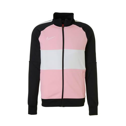 Nike sportvest zwart/roze/wit kopen