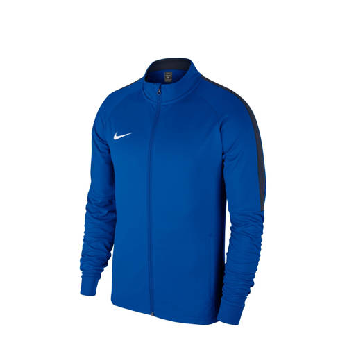 Nike sportvest blauw kopen