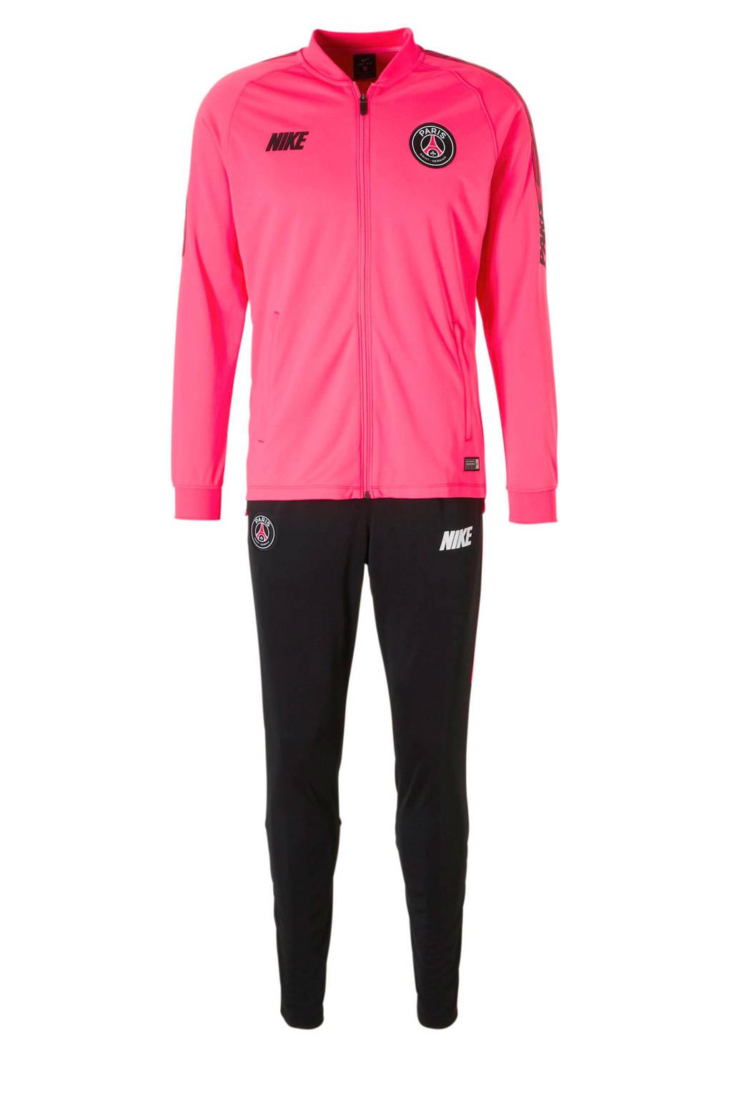 Nike   trainingspak roze/zwart, Roze/zwart