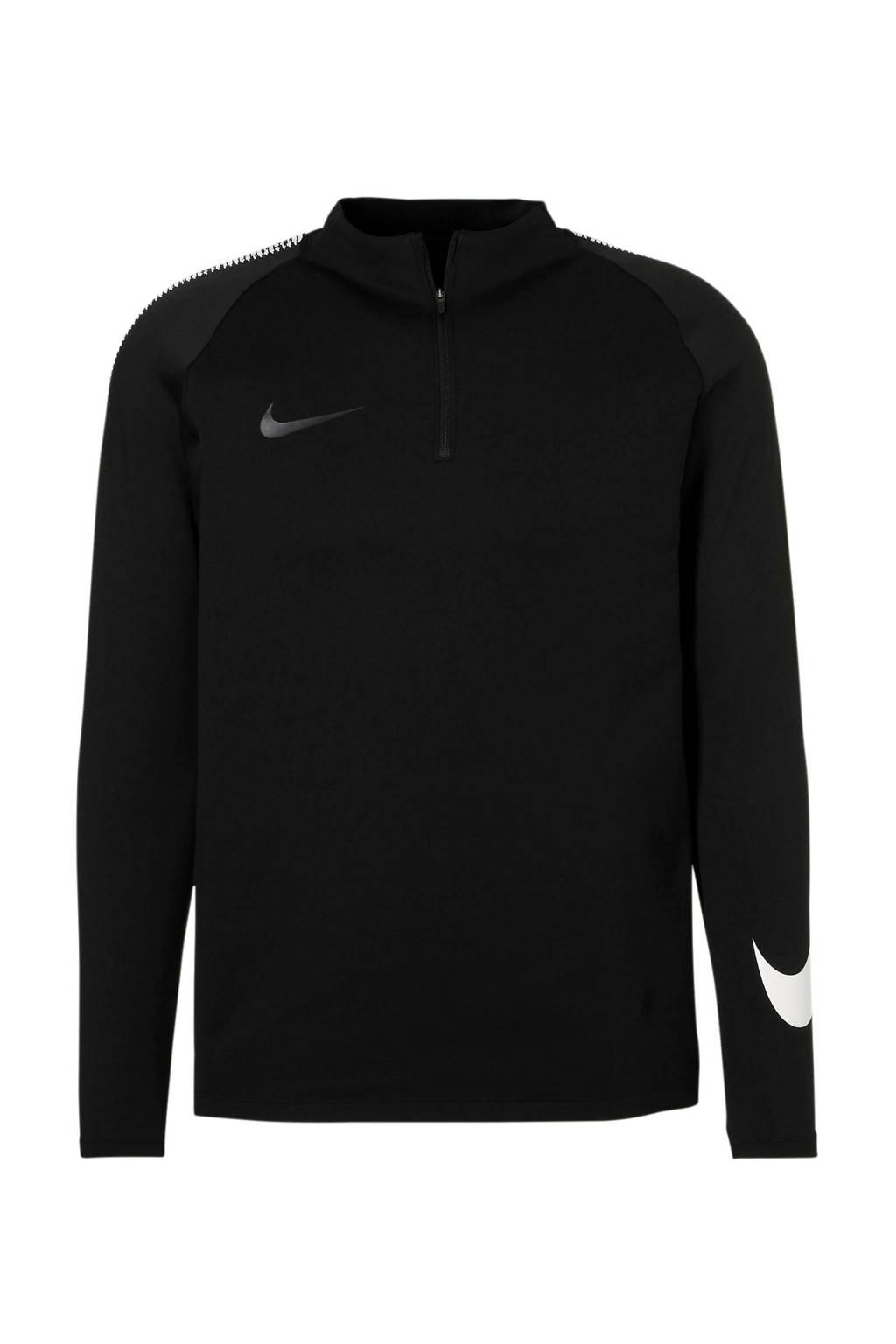 Nike Senior  voetbalshirt, Zwart/wit