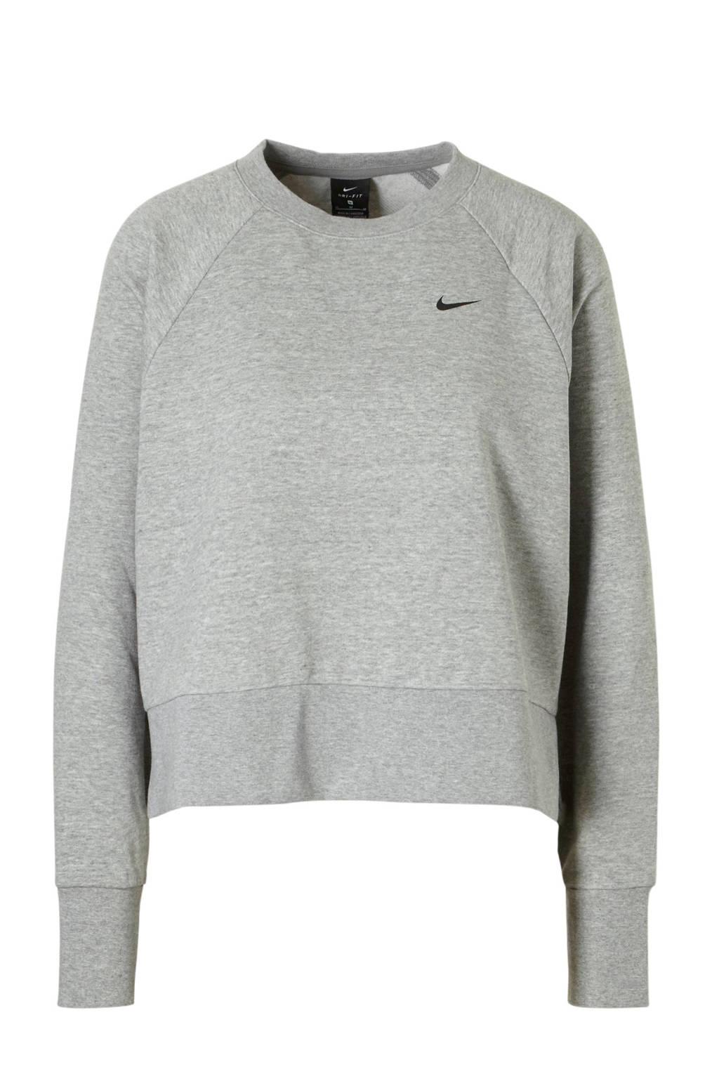 Nike sportsweater grijs, Grijs