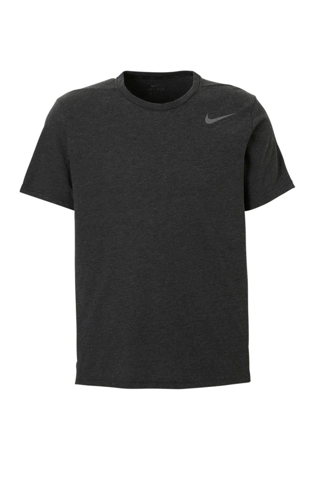 Nike   sport T-shirt antraciet, Antraciet