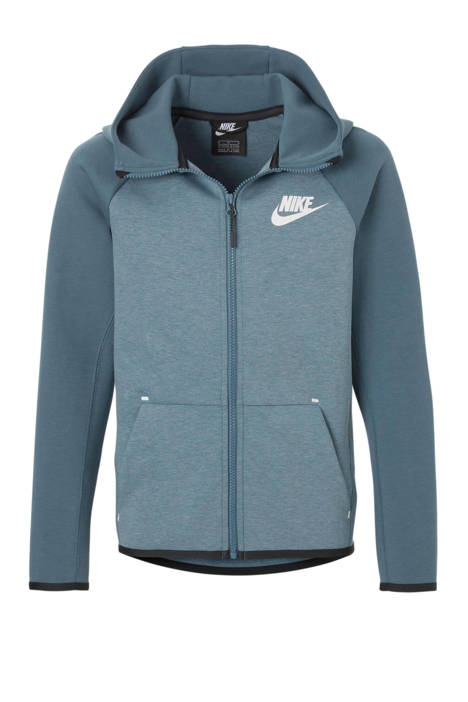 Tech Fleece vest blauw