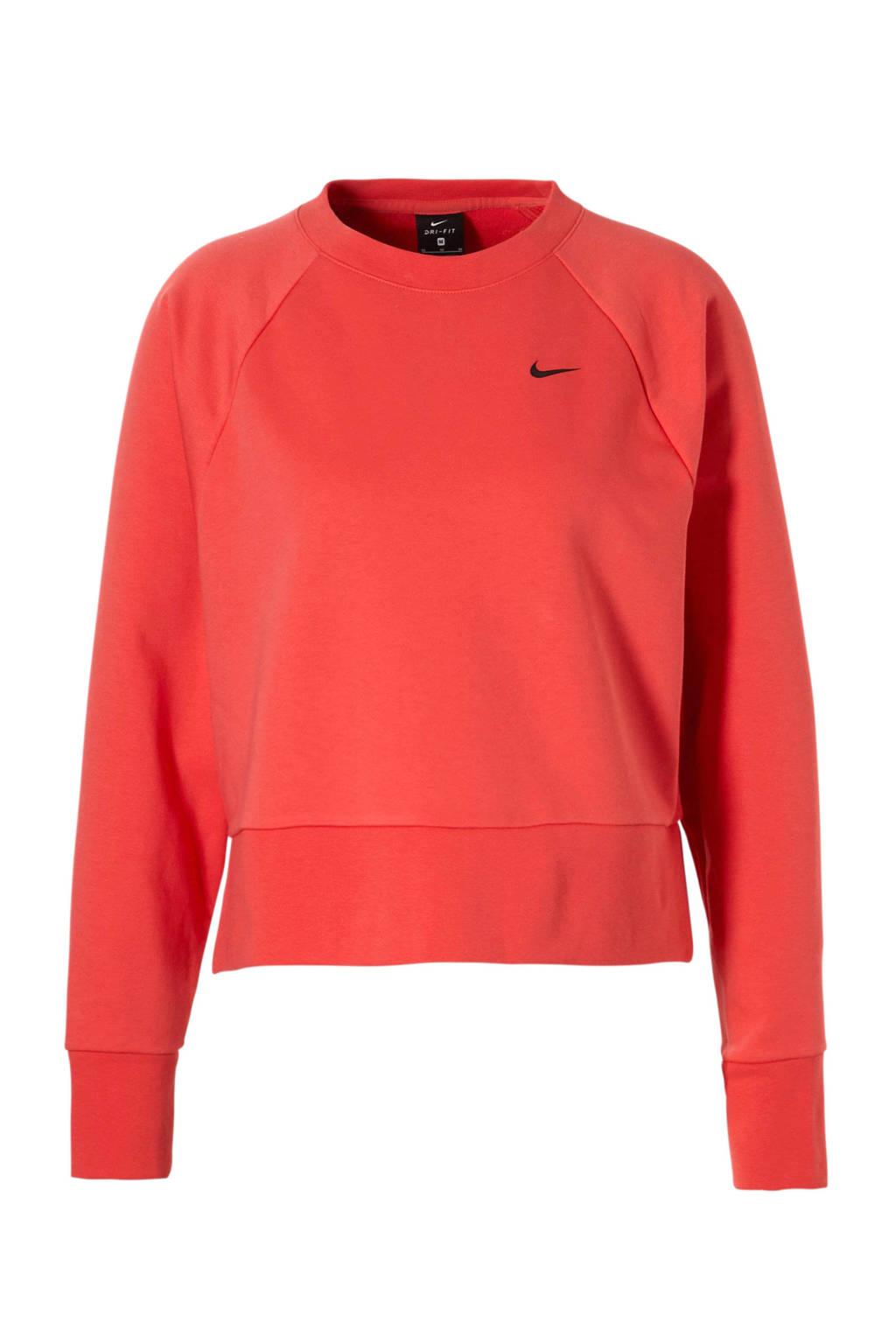 Nike sportsweater koraalrood, Koraalrood