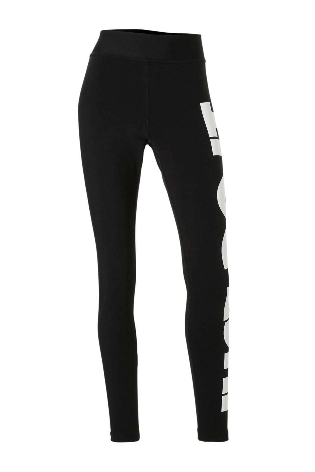Nike joggingbroek zwart, Zwart/wit