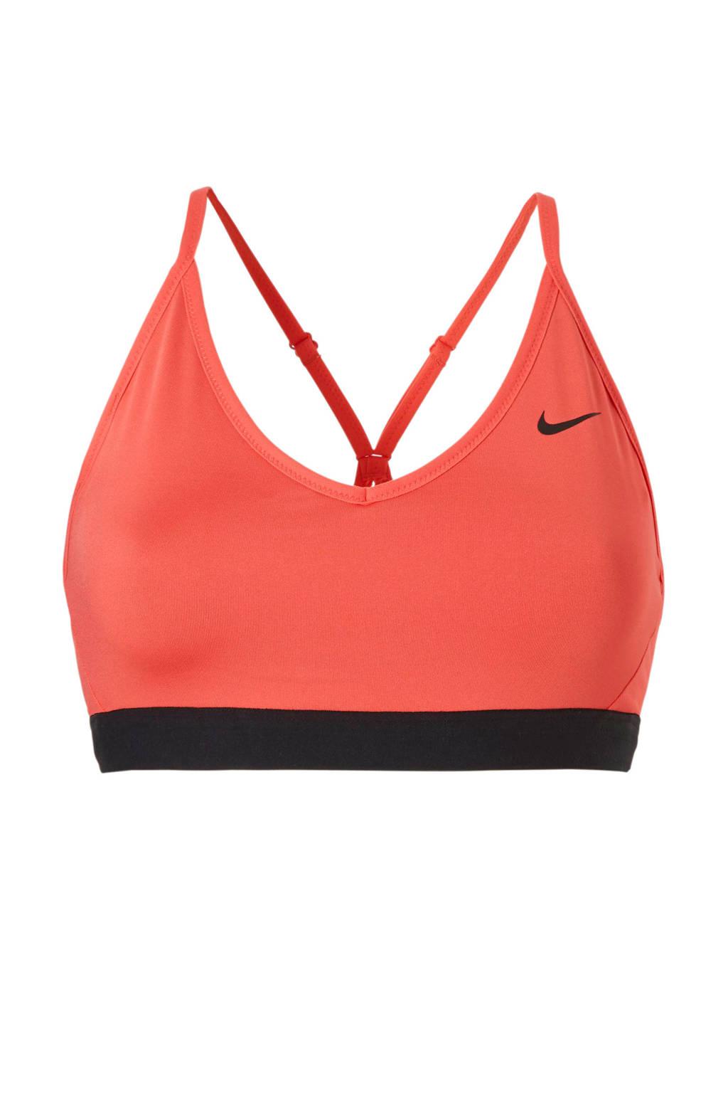 Nike Indy Bra sportbh roze/zwart, Roze/zwart