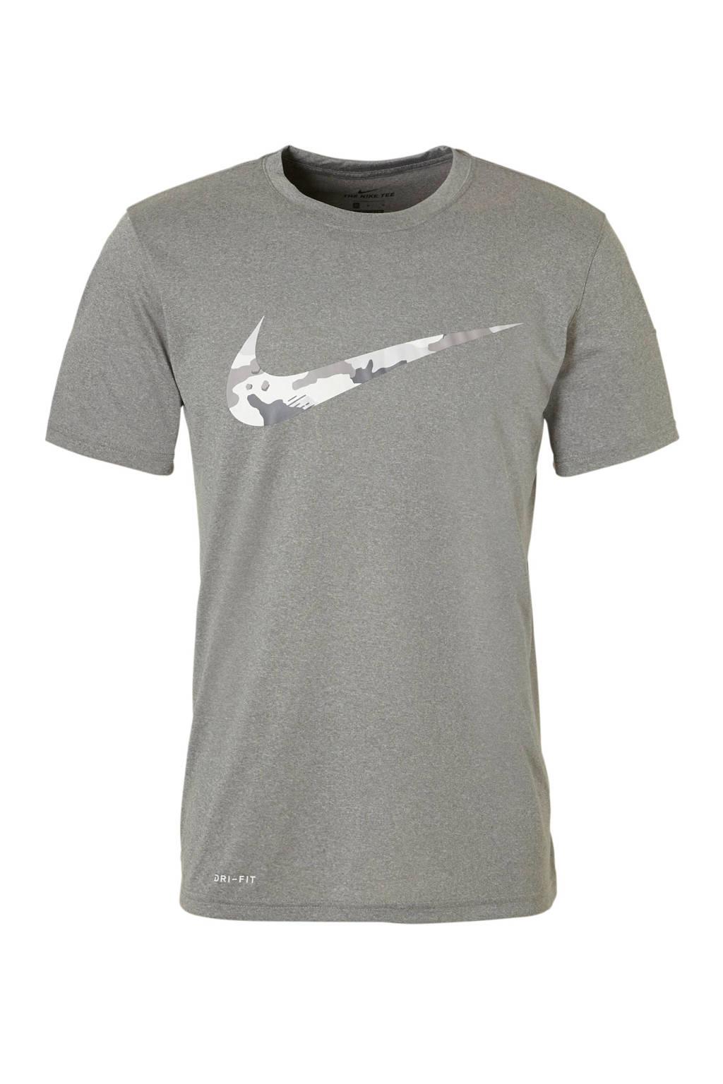 Nike   sport T-shirt grijs, Grijs