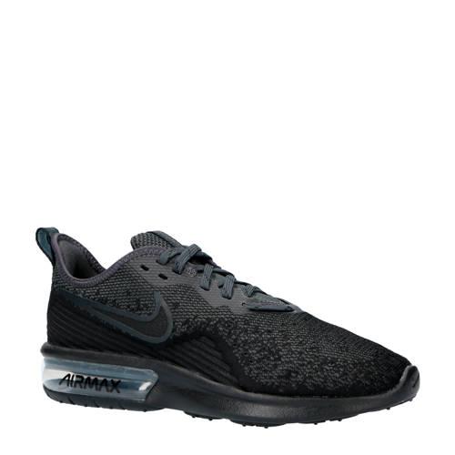 9f16e9f3576 Nike Air Max Sequent 4 Sneakers Zwart nike kopen in de aanbieding