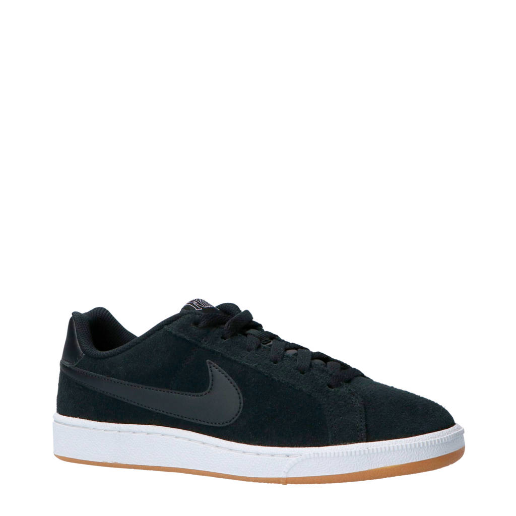 Nike  Court Royale suède sneakers zwart, Zwart