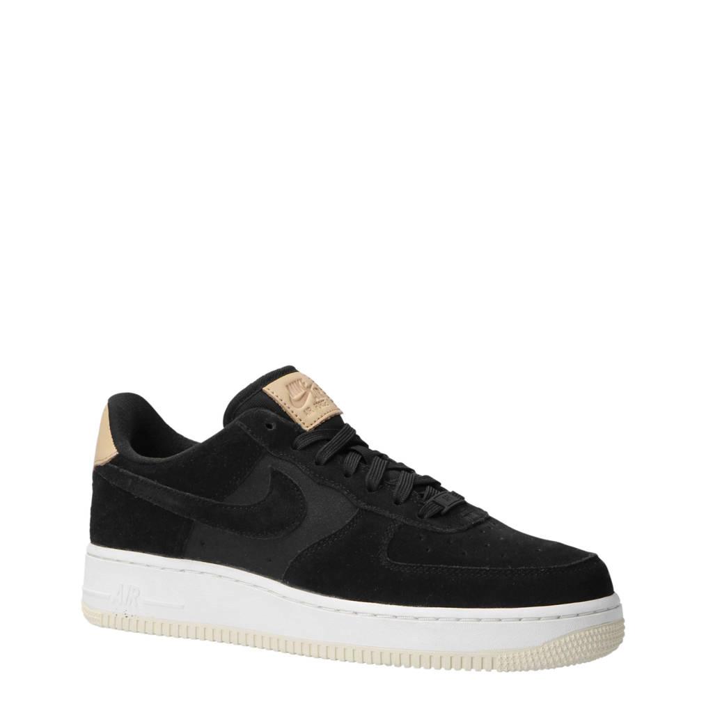 Nike   Air Force 1 '07 PRM sneakers, Zwart