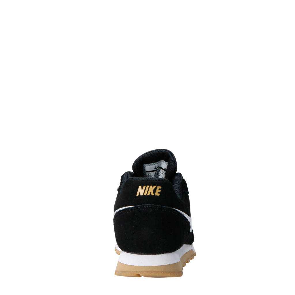 Sneakers Nike Suede Runner2 Zwart wit Md awqZ70w8