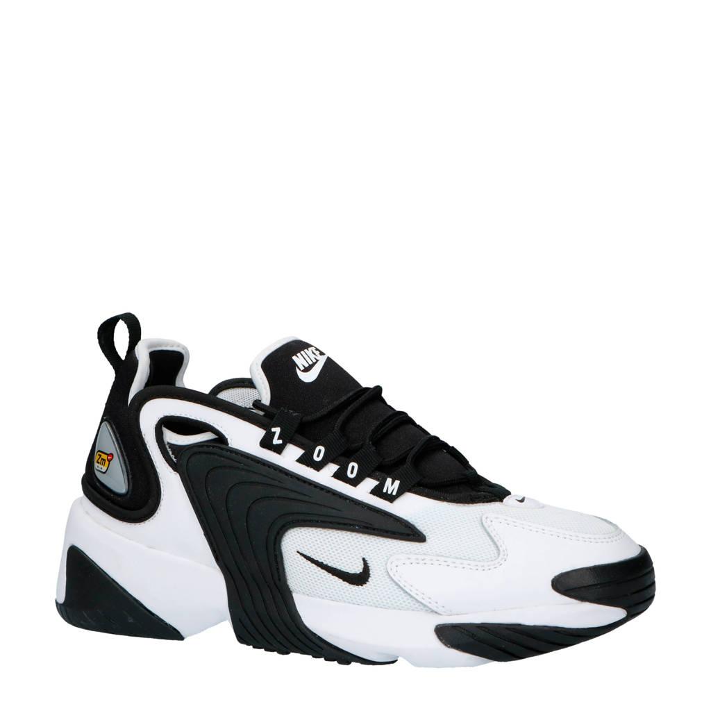 Nike   ZOOM 2K sneakers wit/zwart, Wit/zwart