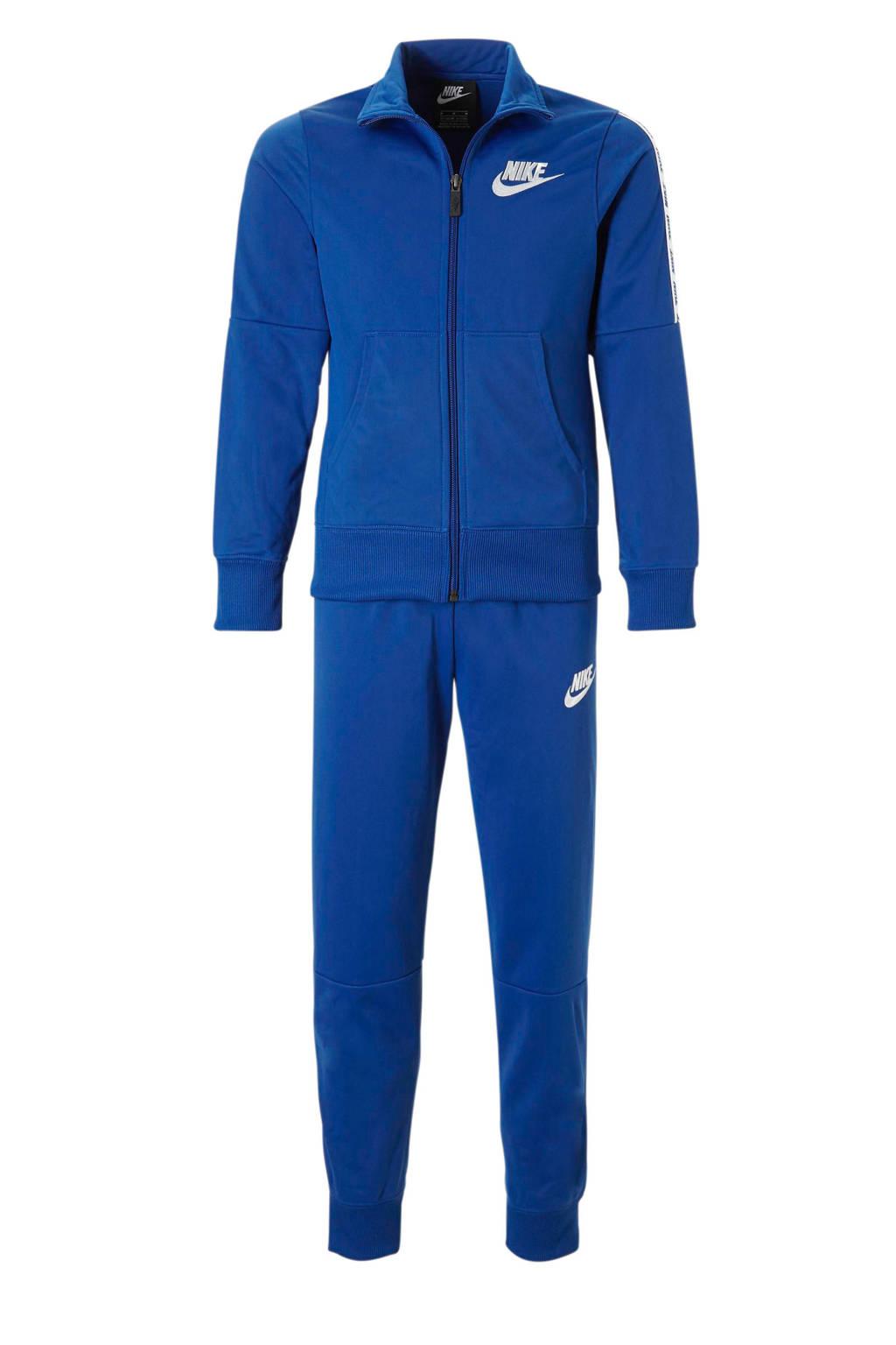 Nike trainingspak blauw, Blauw