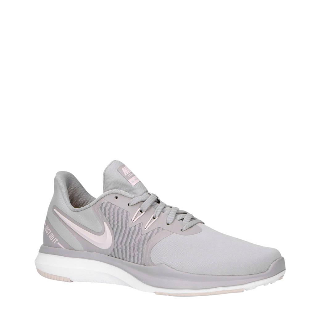 Nike   In-Season TR 8 fitness schoen, Taupe/wit