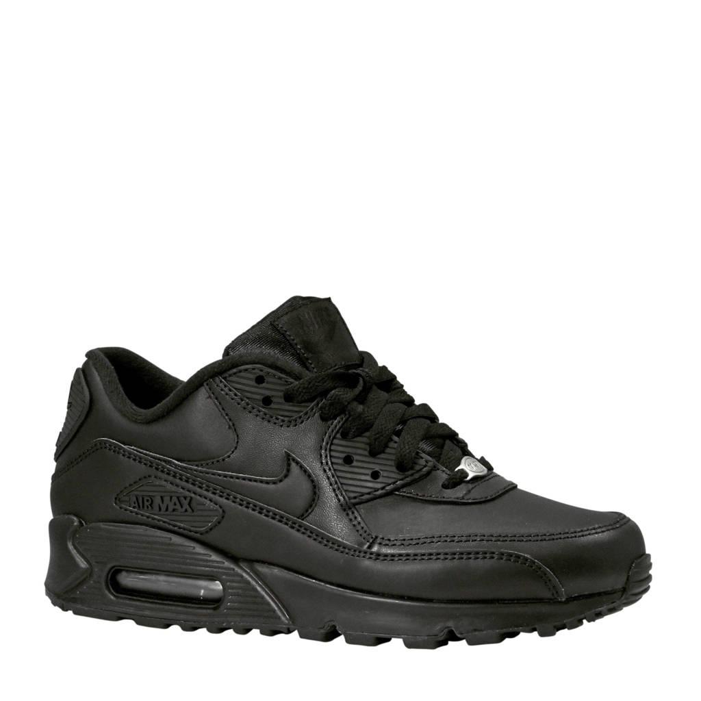 ee58c6dca94 Nike Air Max 90 Ultra 2.0 leren sneakers zwart   wehkamp