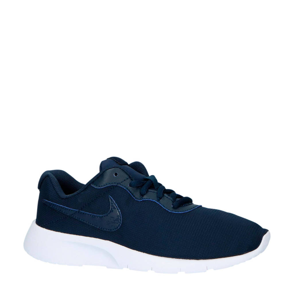 Nike   Tanjun sneakers donkerblauw/wit, Donkerblauw/wit