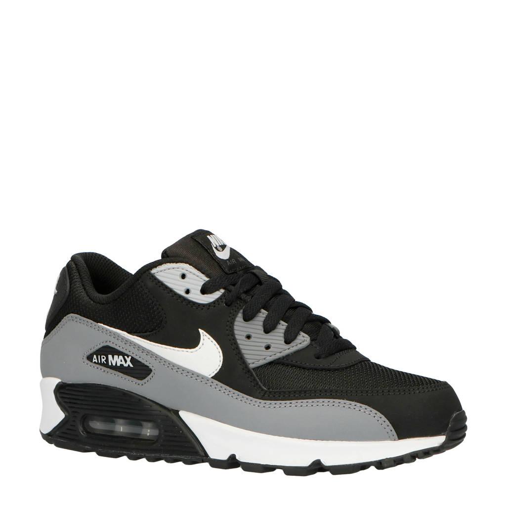 Nike Air Max 90 Essential sneakers, Zwart/grijs/wit