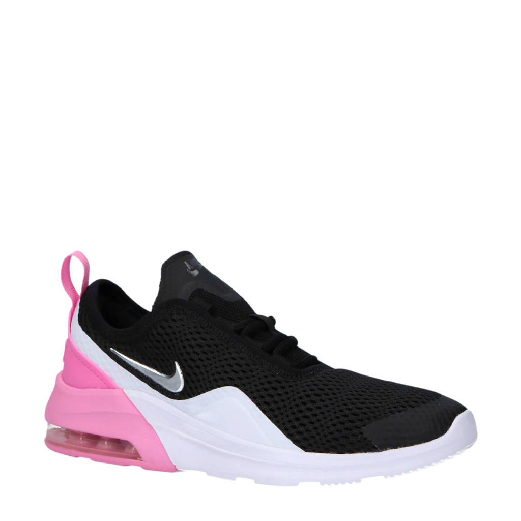 low priced a6a3f 5ecd5 Nike Air Max Motion 2 sneakers, Zwart wit roze