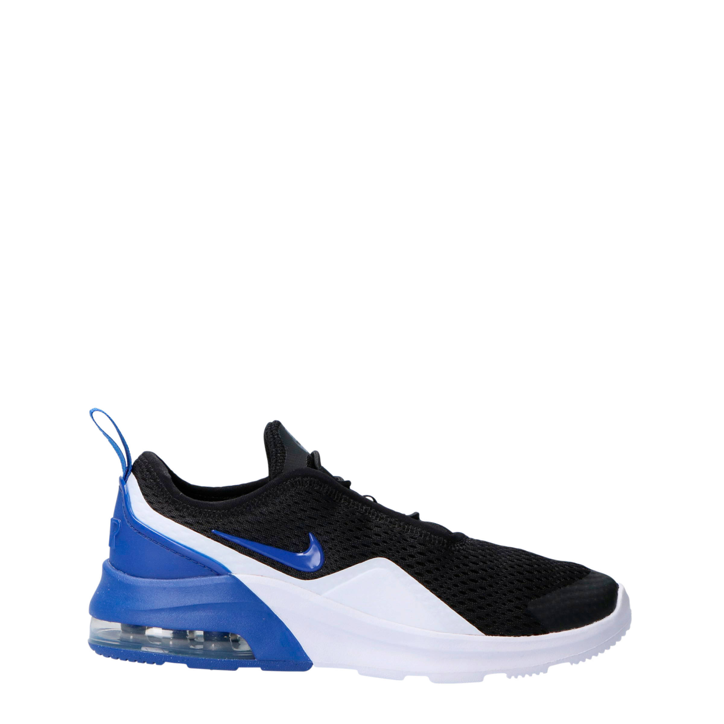 fe29997525a Nike Air Max Motion 2 sneakers zwart wit blauw