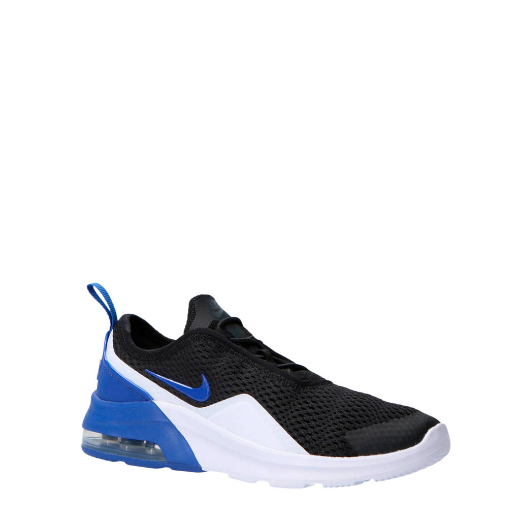 timeless design 34ad7 f9186 Nike Air Max Motion 2 sneakers zwart wit blauw, Zwart wit