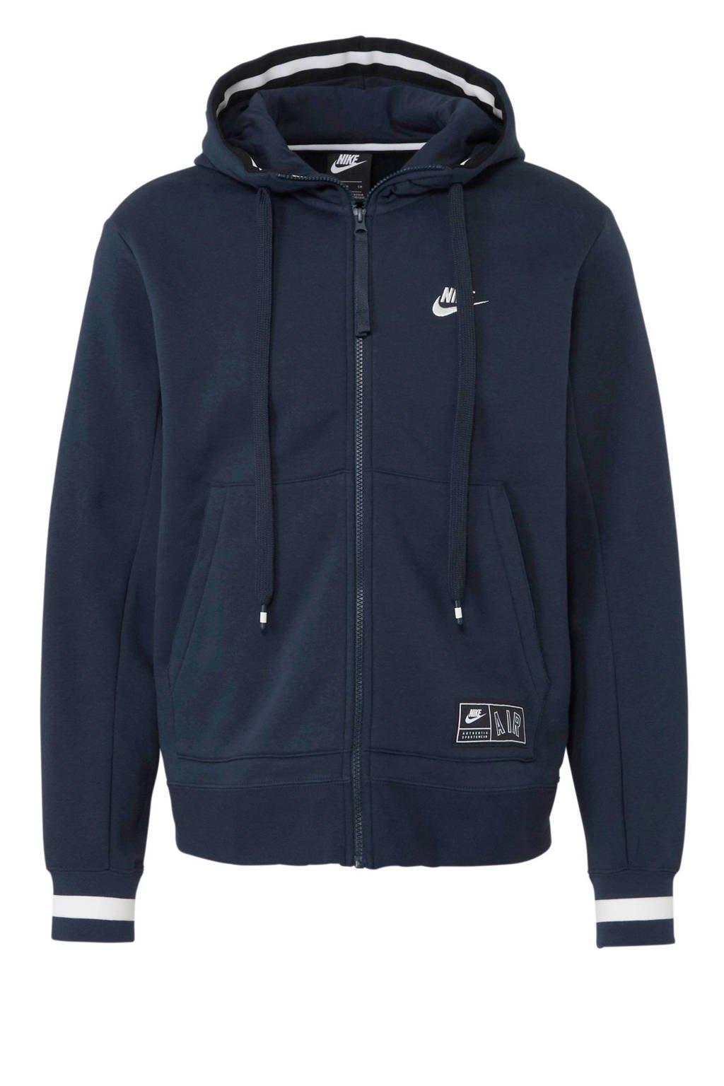 Nike   sportvest donkerblauw, Donkerblauw