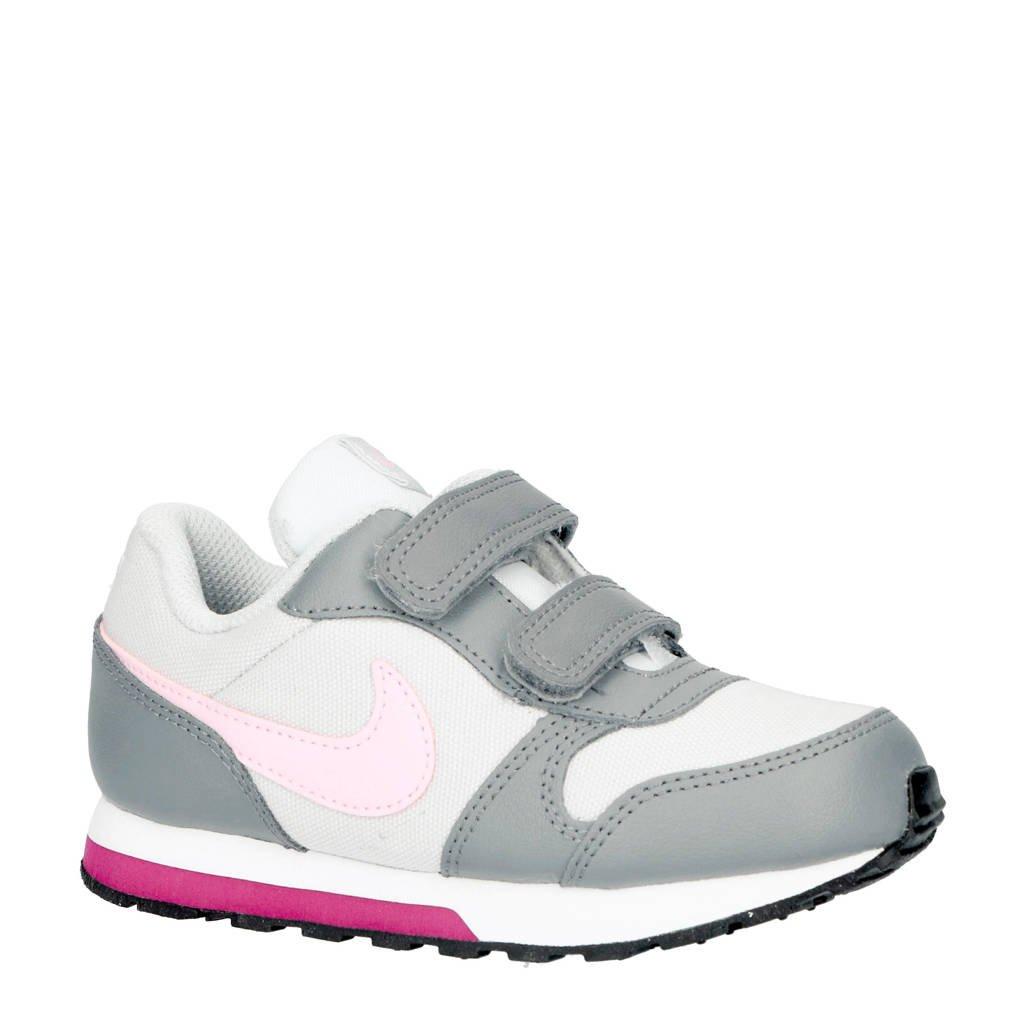 Nike  MD Runner 2 sneakers, wit/grijs/roze