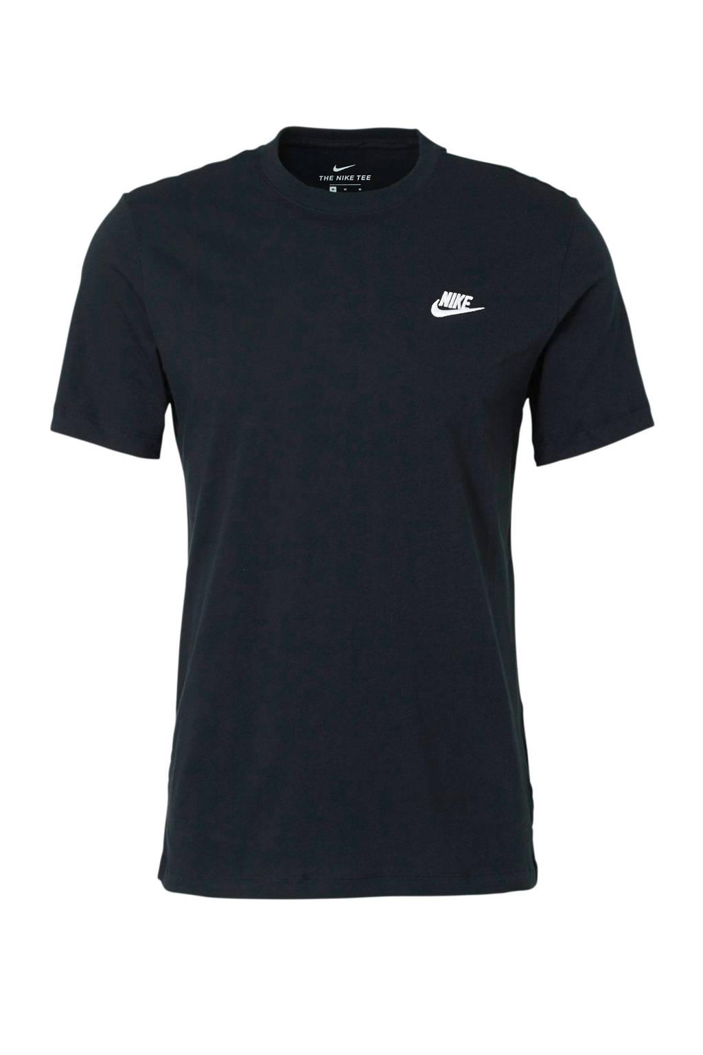 Nike T-shirt, Zwart