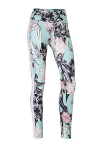 Nike / Nike sportlegging met all over print mintgroen