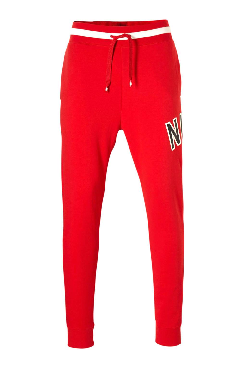 Nike joggingbroek rood, Rood
