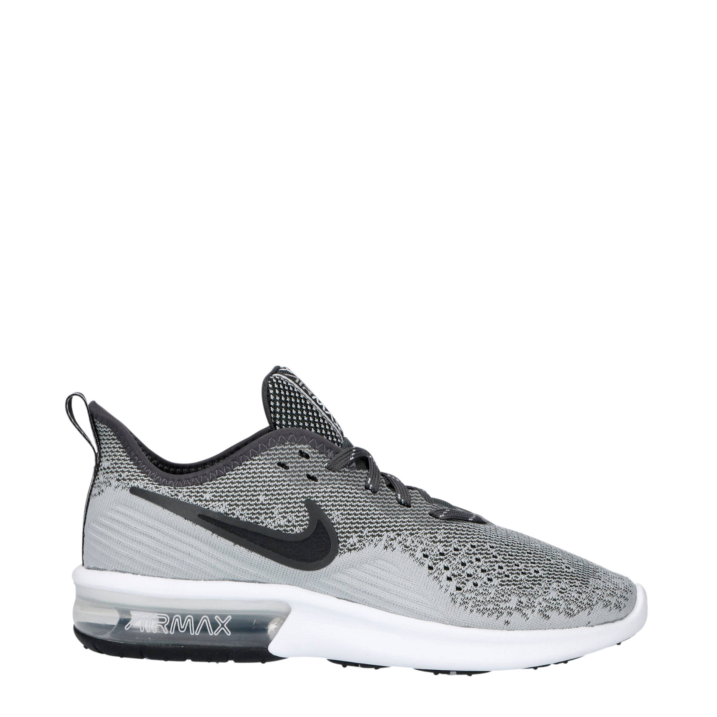 aee818cca37 Nike Air Max Sequent 4 sneakers grijs | wehkamp